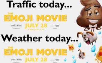 Sony Emoji Movie Billboard