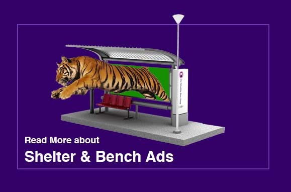Learn more about shelter and bus bench advertising
