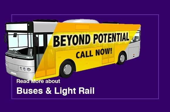 bus and train ads in Arizona work