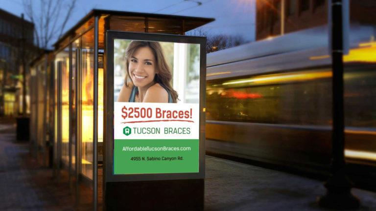 bus shelter advertising in Arizona