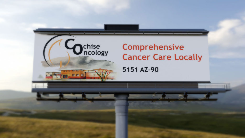 cochise oncology billboard