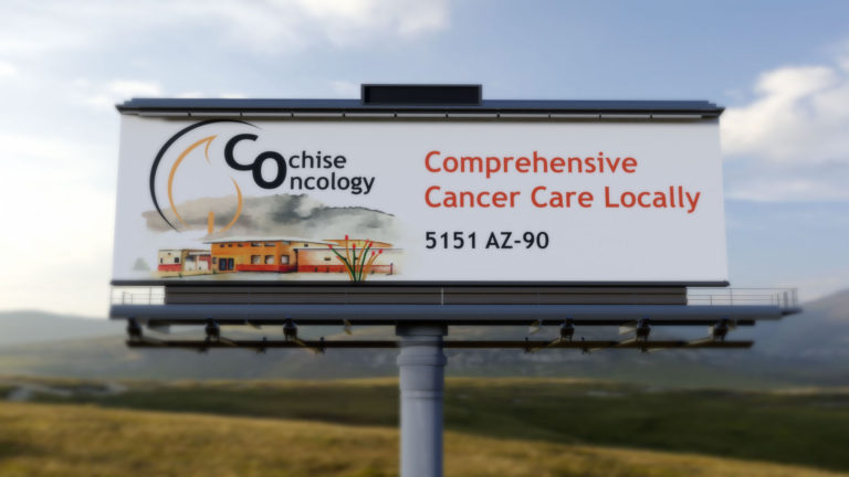 cochise oncology billboard