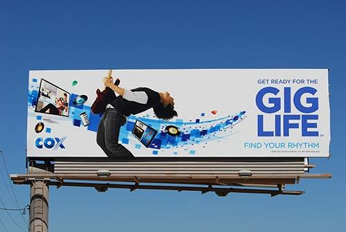 bulletin billboard size