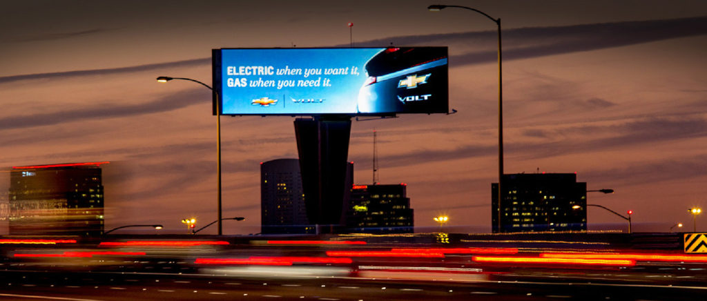 digital LED billboard advertising