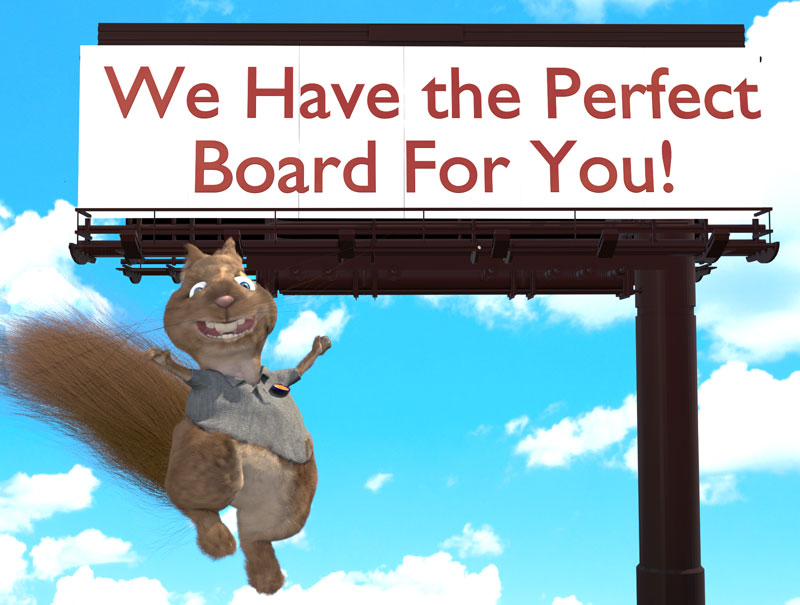 the perfect billboard for you!